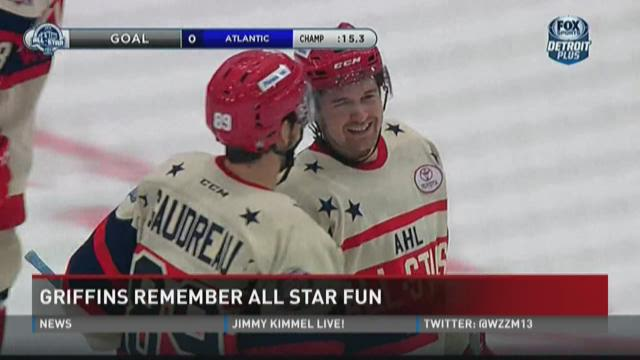 Griffins all-stars reflect on game