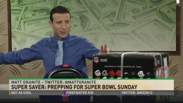Super Saver: prepping for Super Bowl Sunday