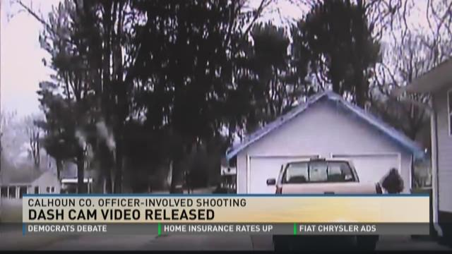 Police release dash cam video of officer-involved shooting