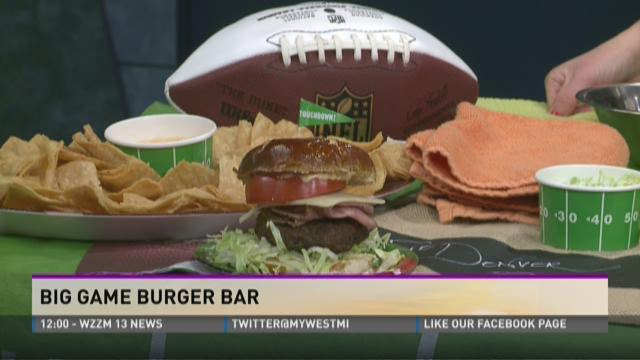Big Game Burger Bar