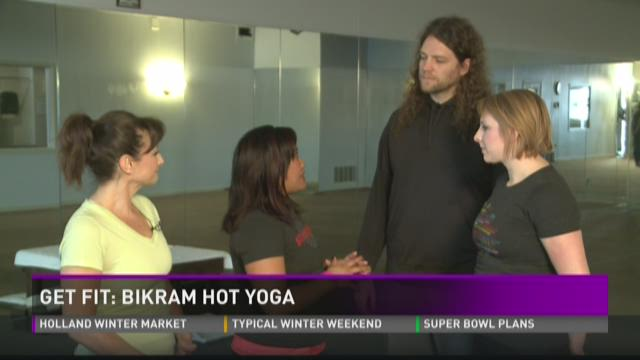 Get fit: Bikram hot yoga