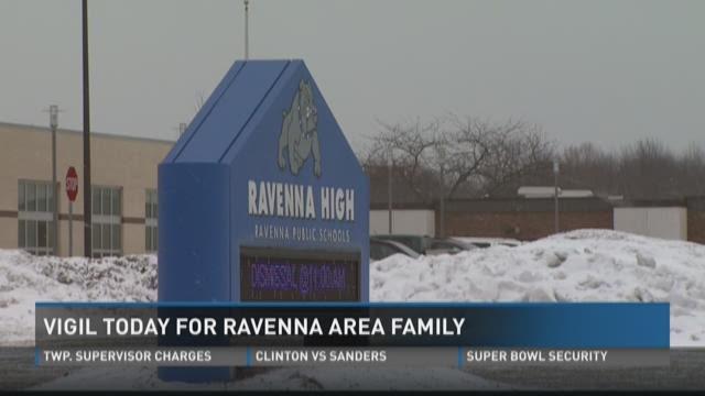 Vigil today for Ravenna-area family