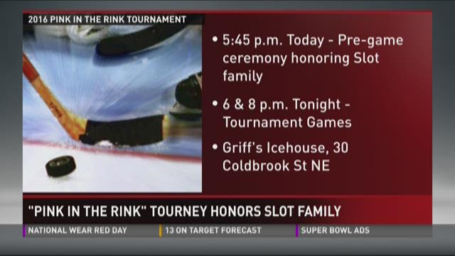Pink in the Rink tourney honors Slot family