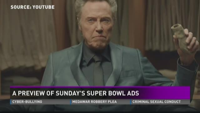 Previewing the Super Bowl ads