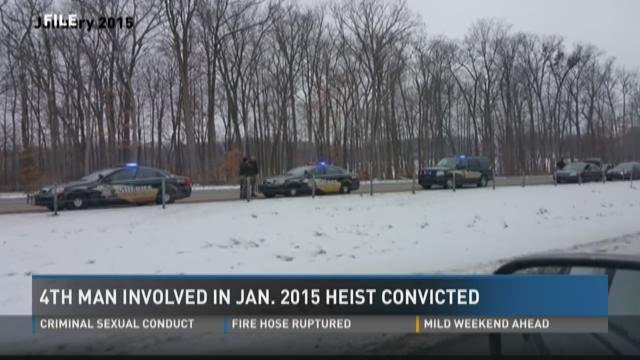 Smash-and-grab bandit enters plea in 2015 Medawar heist