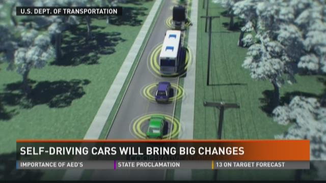 Self-driving cars will bring big changes