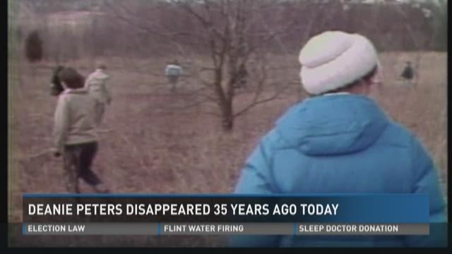 35th anniversary ot Deanie Peters' disappearance - still no closure