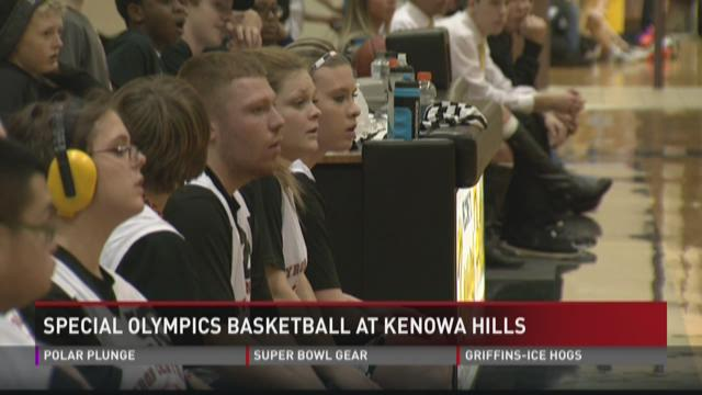 Kenowa Hills hosts Special Olympics basketball tournament