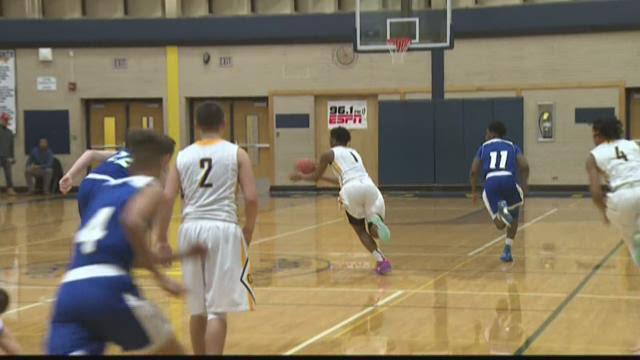 Godwin Heights boys basketball wins big over NorthPointe Christian