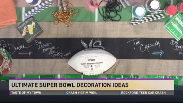 Ultimate Super Bowl decoration ideas