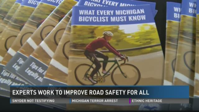 Experts work to improve road safety for all