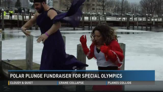Polar Plunge fundraiser for Special Olympics