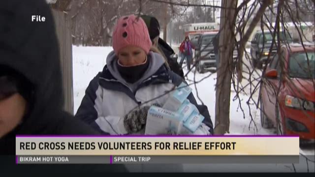 Red Cross Needs Volunteers