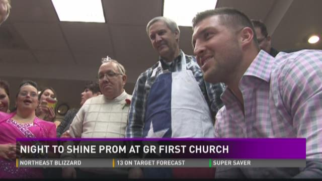 Night to Shine Prom at Grand Rapids First church