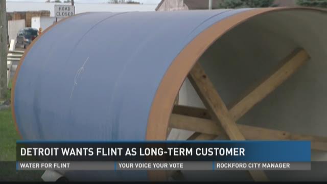 Detroit wants Flint as long-term customer