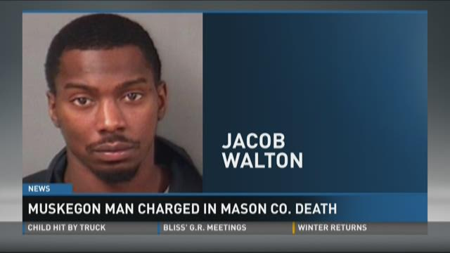 Muskegon man charged in Mason County death