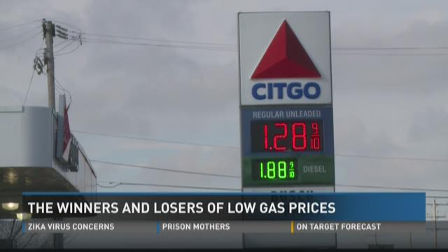 The winners, losers of low gas prices