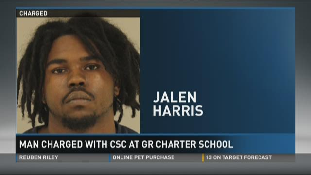 Man charged with CSC at Grand Rapids charter school