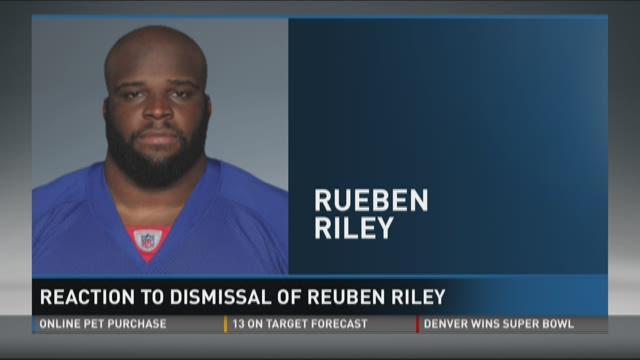 Reaction to dismissal of Reuben Riley