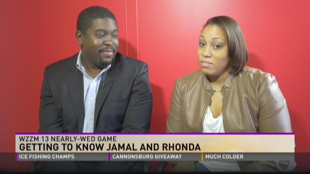 Newlywed Game: Meet Jamal and Rhonda