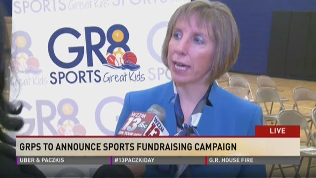 Grand Rapids Public Schools to announce sports fundraising campaign