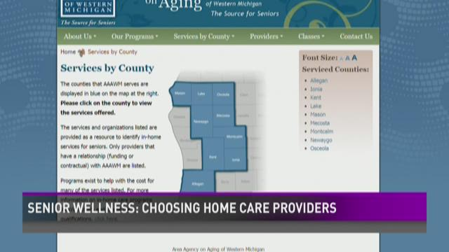Senior wellness: choosing the right at-home care provider