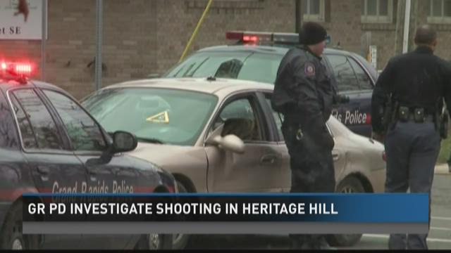 Grand Rapids police investigate shooting in Heritage Hill