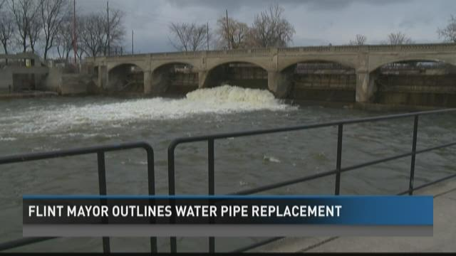 Flint mayor outlines water pipe replacement timeline