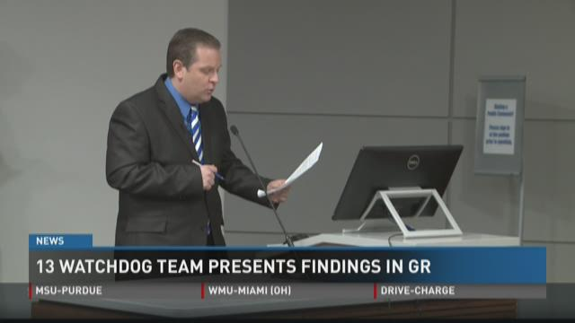 Watchdog team presents findings in G.R.