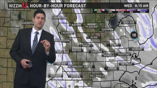 Wednesday AM Forecast - Lake Effect Snow