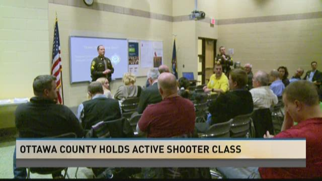 Ottawa County holds active shooter class
