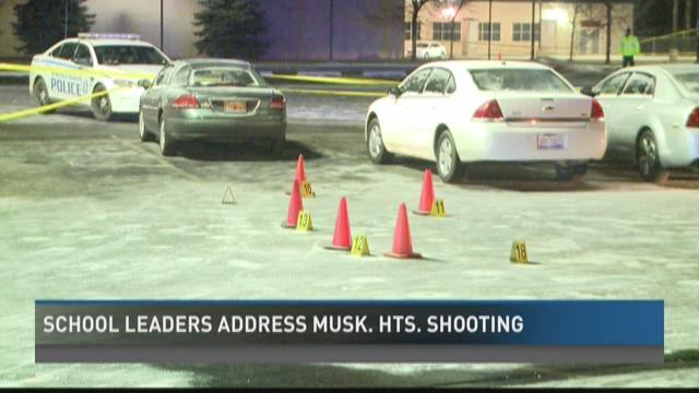 School leaders address Muskegon Heights shooting