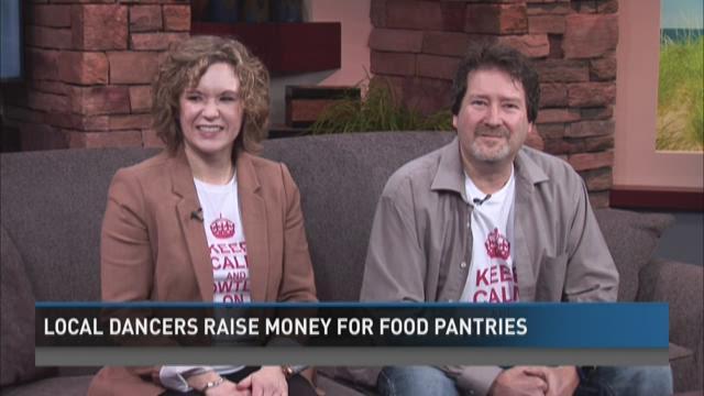 Local dancers raise money for food pantries
