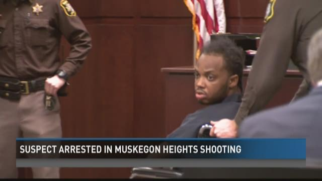 Suspect arrested in Muskegon Heights shooting
