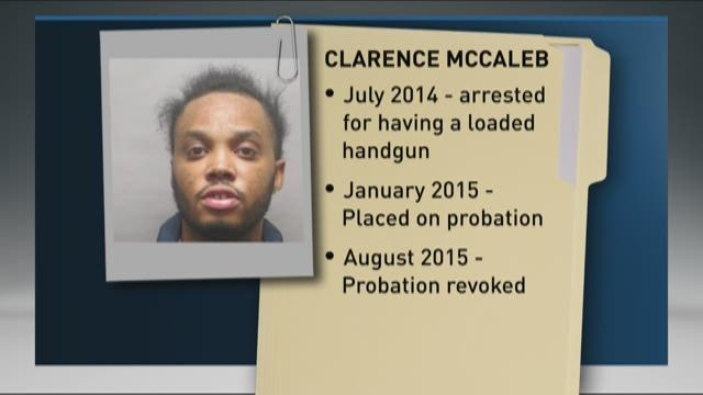 Clarence McCaleb, 21, has lengthy criminal record