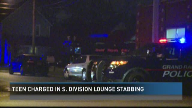 Teen charged in South Division lounge stabbing