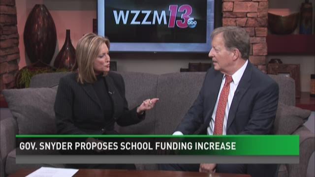 Gov. Rick Snyder proposes school funding increase
