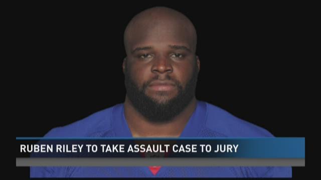 Rueben Riley to take assault case to jury