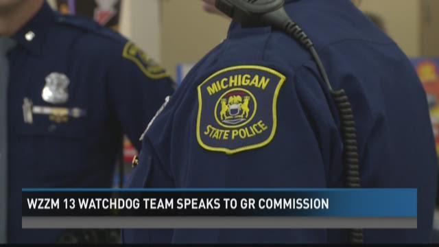 WZZM 13 Watchdog team speaks to Grand Rapids commission