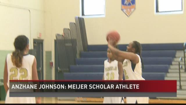 Anzhane Johnson: Meijer Scholar Athlete
