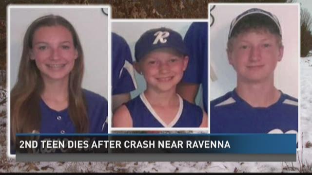Boy dies of injuries from Ravenna crash
