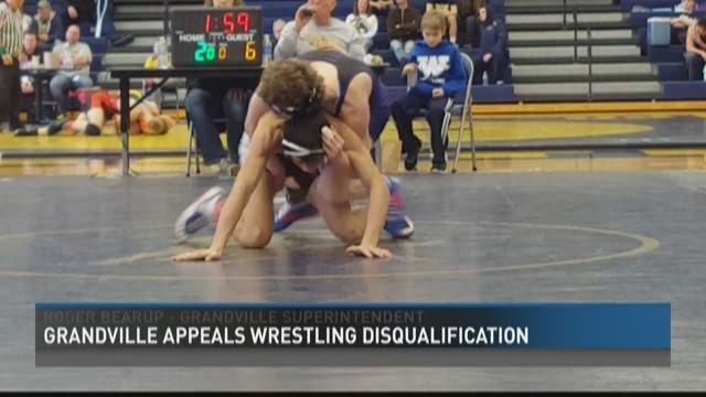 Grandville schools appeal wrestling disqualification