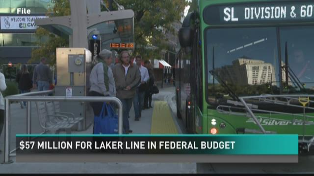 Federal budget includes $57M for Laker Line