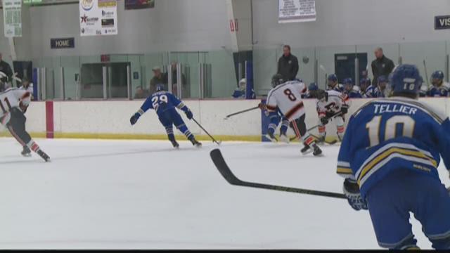 Rockford hockey faces Grand Rapids Catholic Central