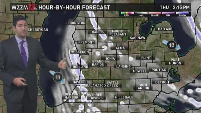 Thursday Morning Forecast - More Lake Effect Snow