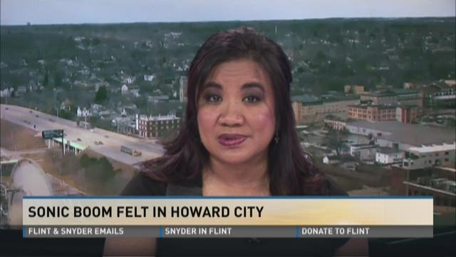 Sonic boom felt in Howard City