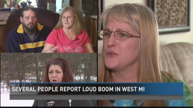 Loud boom shakes West Michigan homes