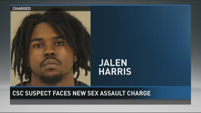 CSC suspect faces new sex assault charge