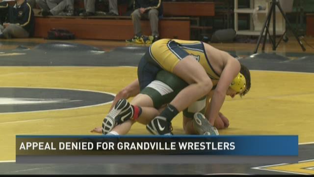 Grandville wrestlers� appeal denied