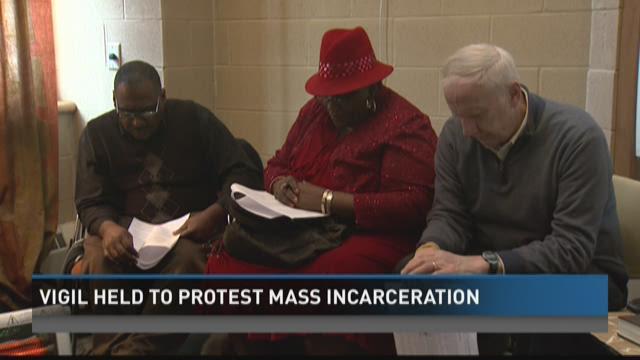 Faith leaders protest incarceration disparities